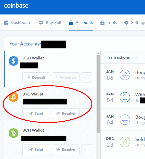 Transfer cryptocurrencies between coinbase and kraken