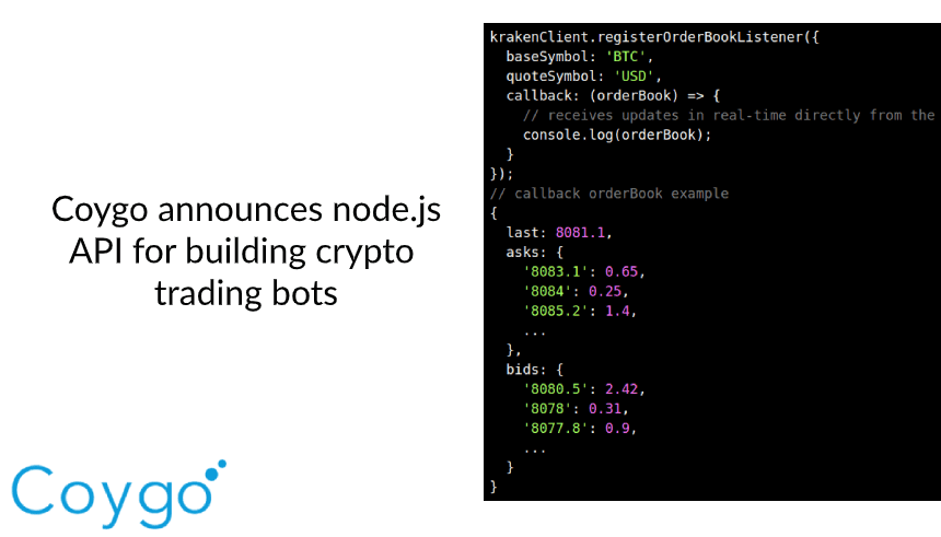 how to create a cryptocurrency trading bot using node.js